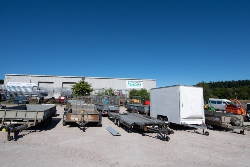 Plant & Car Trailers Followed By Caravans, Livestock Trailers, Containers & Lorry Bodies.